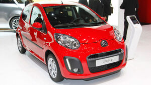 Citroen C1, Autosalon Genf 2012, Messe