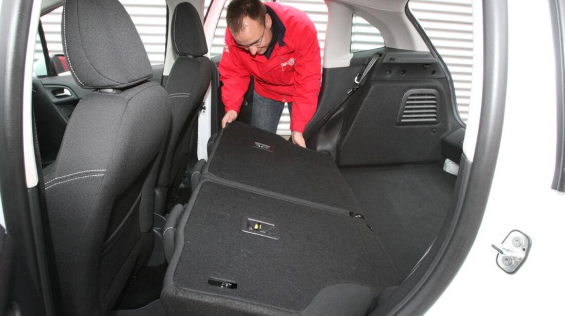 Citroen C3 Vti 95 Rücksitze