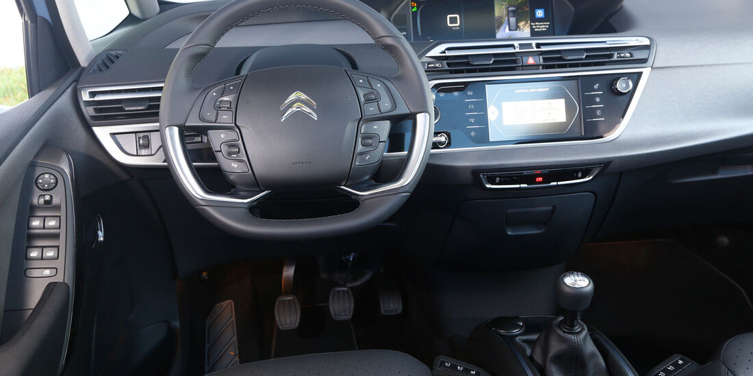 Citroen C4 Grand Picasso Blue Hdi 150, Cockpit
