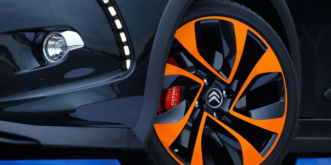 Citroen DS3 Racing, Vorderrad, Detail