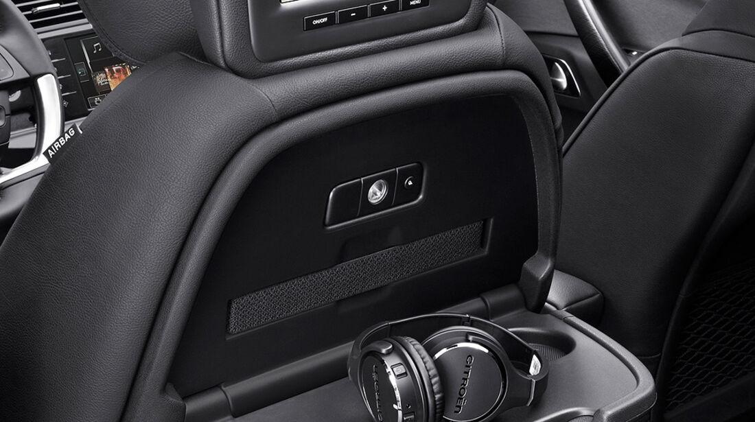 Citroen Grand C4 Picasso, Rear-Seat-Entertainment