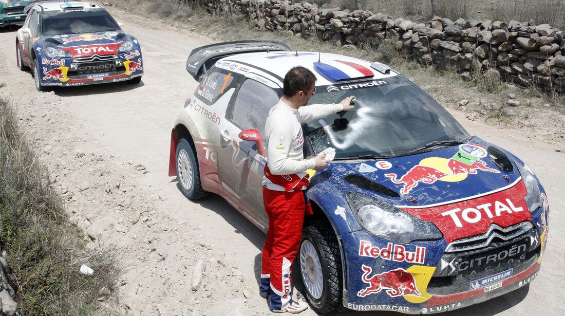 Citroen WRC Rallye Mexiko 2012