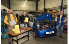 Citysax Elektroauto, E-Auto, Werkstatt