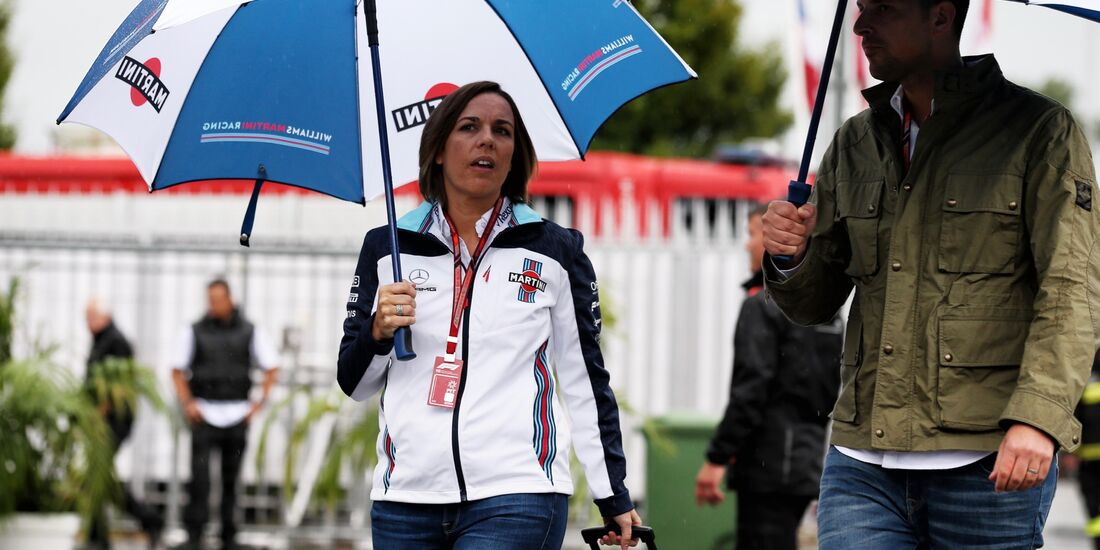 Claire Williams - Formel 1 - GP Italien - 31. August 2018