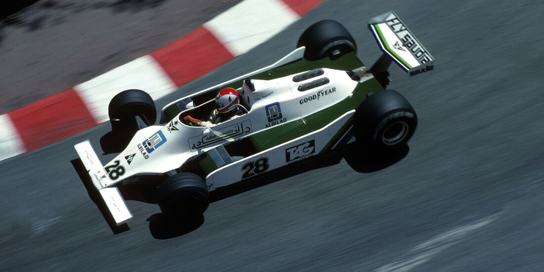 Clay Regazzoni - Williams-Ford FW07 - GP Monaco 1979