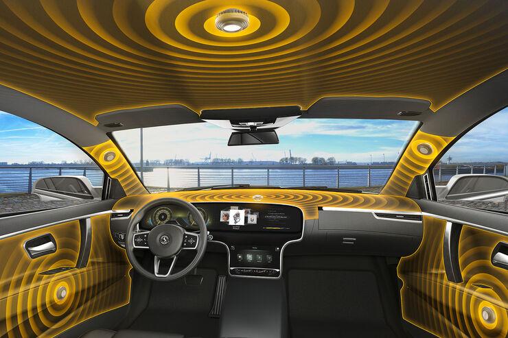 Continental Audiotechnik Auto als Klangkörper