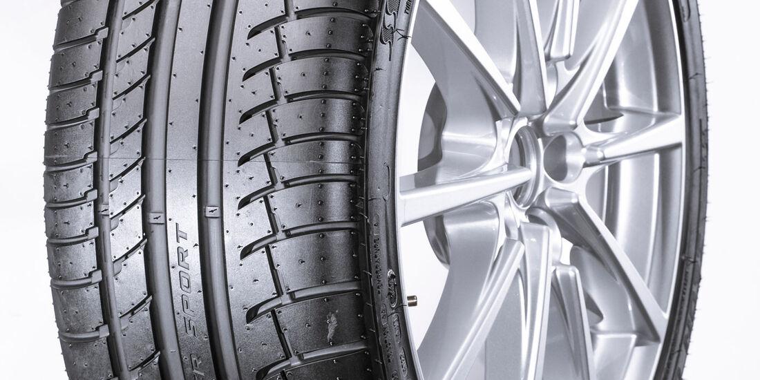 Cooper Zeon CS Sport, Sommerreifen-Test 2016, Reifengröße 235/40 R18 Y, Ford Focus ST, Test