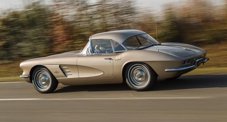 Corvette C1-C3, Seitenansicht