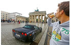 Corvette C6, Brandenburger Tor, Berlin