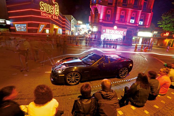 Corvette C6, St Pauli, Hamburg