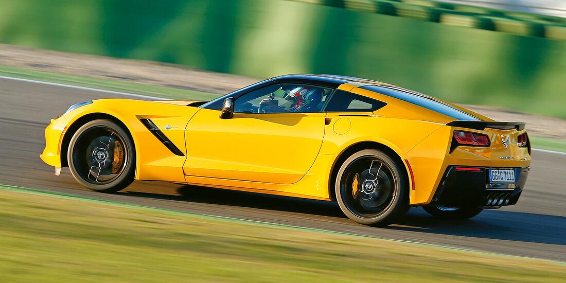 Corvette C7 Stingray, Seitenansicht