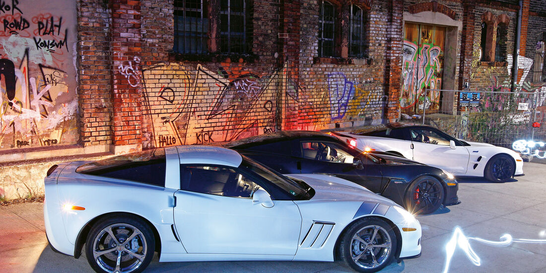 Corvette Grand Sport, Seitenansicht