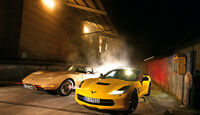 Corvette Stingray Coupé, Frontansicht