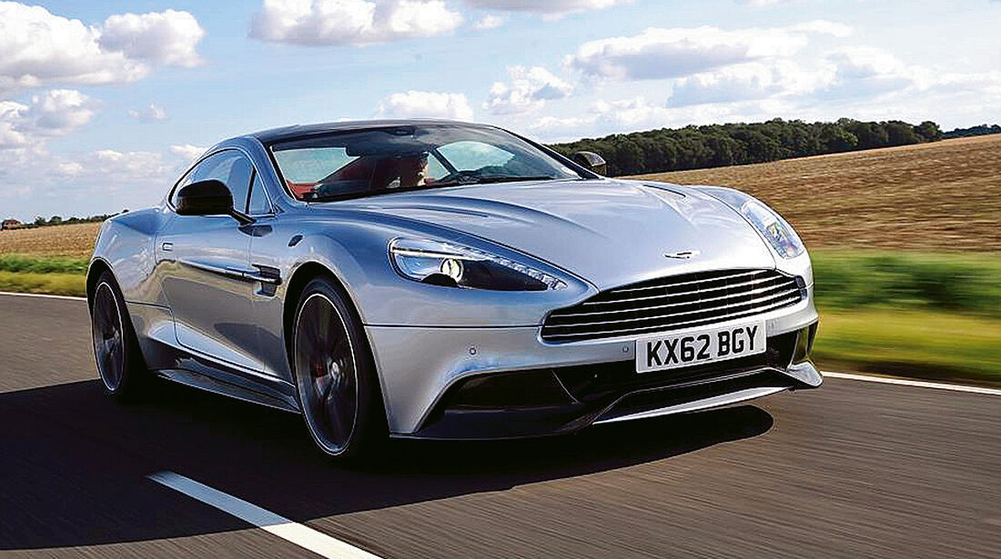 Coupé, Aston Martin Vanquish