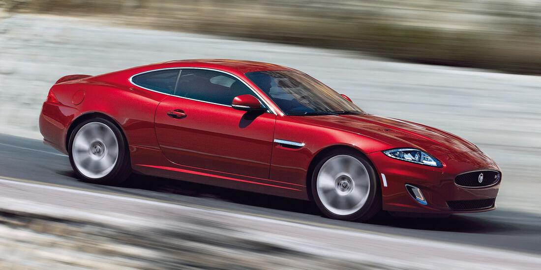Coupés bis 100 000 €, Jaguar XK 5.0 V8