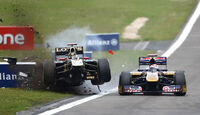 Crash Heidfeld GP Deutschland 2011