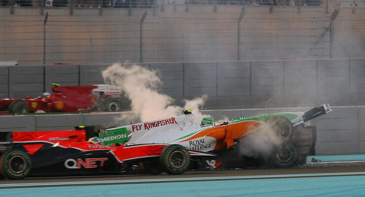 Crash Schumacher Liuzzi