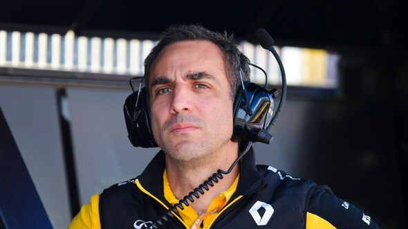 Cyril Abiteboul - Formel 1 - 2019