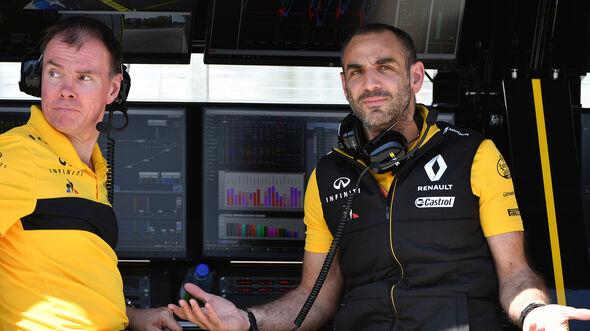 Cyril Abiteboul -Renault - Formel 1 - GP Kanada - Montreal - 8. Juni 2018