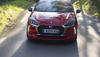 DS3 Performance Frontal fahrend