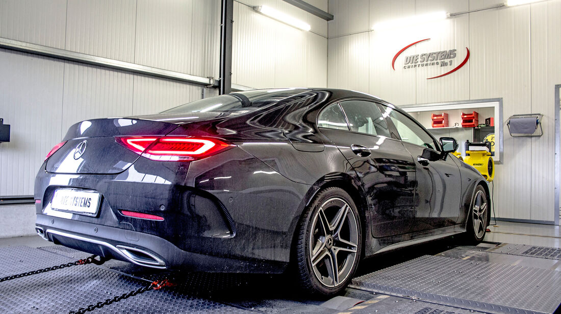DTE-Systems Mercedes CLS 350d - Tuning - Diesel - sport auto Award 2019