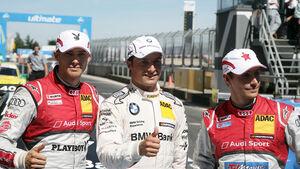 DTM 2012 Nürburgring, Qualifying, Bruno Spengler, Edoardo Mortara, Filipe Albuquerque