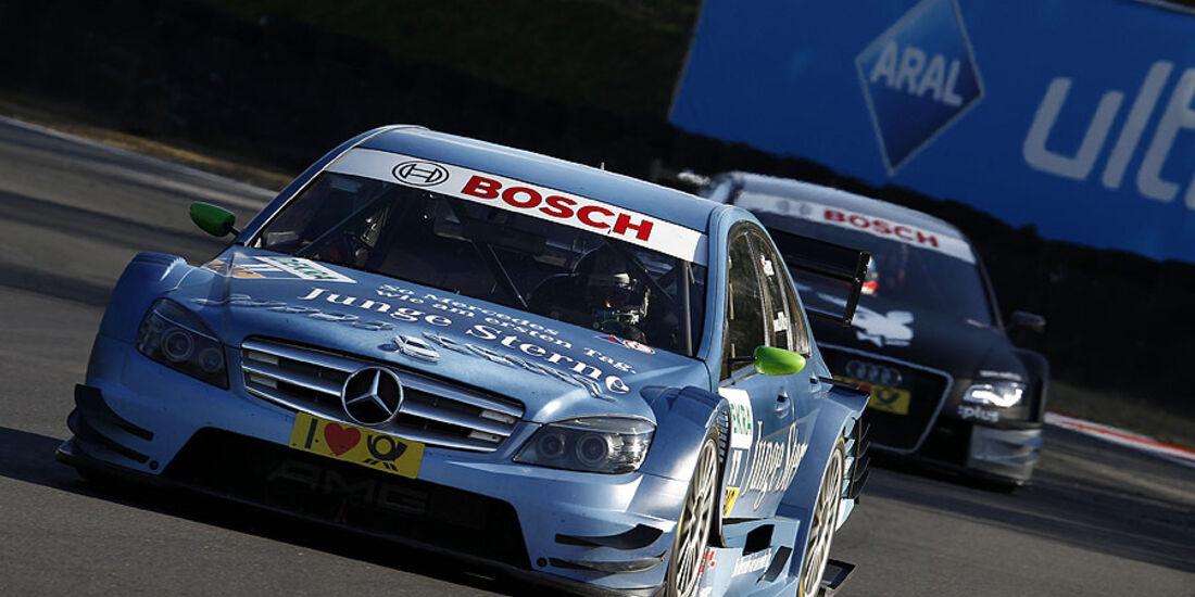DTM, Brands Hatch, 2010, Mercedes C-Klasse, Green