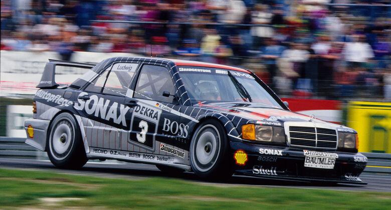Mercedes DTM-Historie