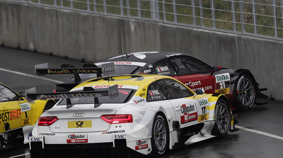 DTM Norisring 2012 Rennen, Edoardo Mortara, Rahel Frey