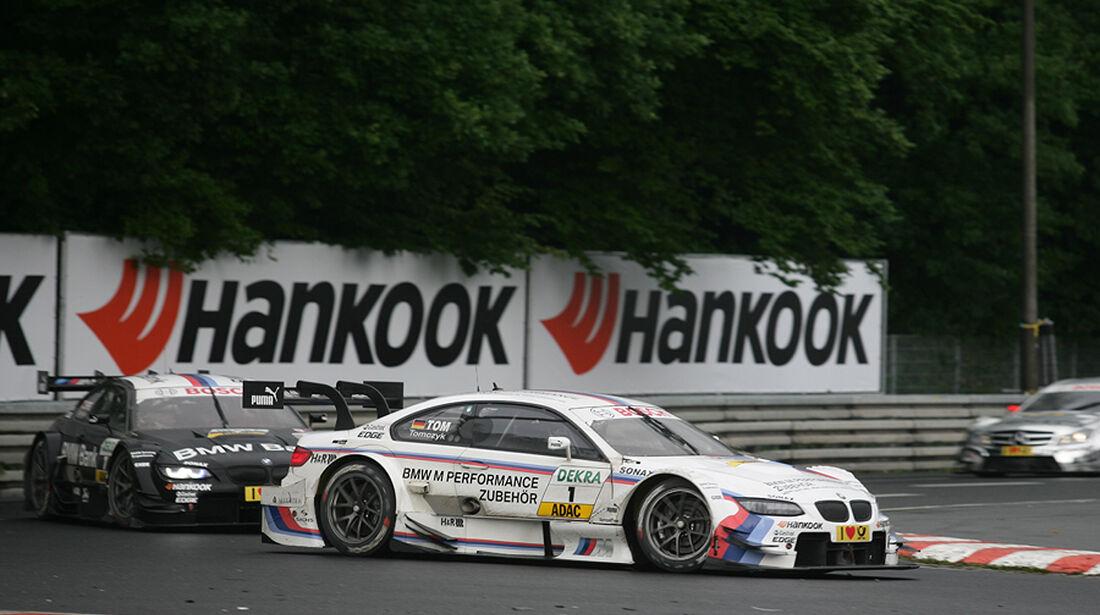 DTM Norisring 2012 Rennen, Tomczyk, Spengler