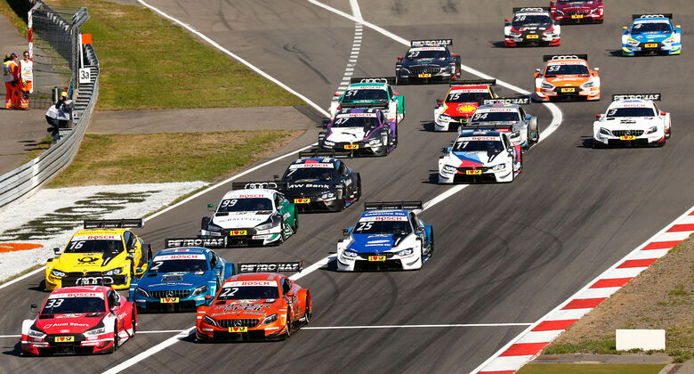 DTM - Nürburgring 2018 - Start
