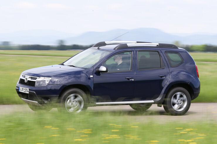 Dacia Duster 1.6 16V LPG 105 4x2 Prestige, Seitenansicht