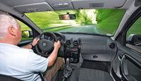 Dacia Duster, Innenraum, Cockpit