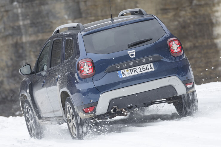 dacia duster tce 125 4x4 im test auto motor und sport. Black Bedroom Furniture Sets. Home Design Ideas