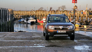 Dacia Duster dci 110 4X4, Front, Fischerhafen