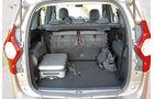 Dacia Lodgy, Kofferraum, Ladefläche
