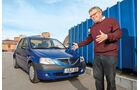 Dacia Logan 1.4 MPI, Alf Cremers, Frontansicht