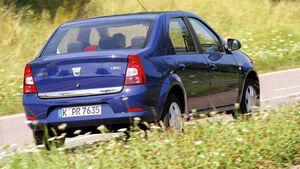 Dacia Logan, Heck