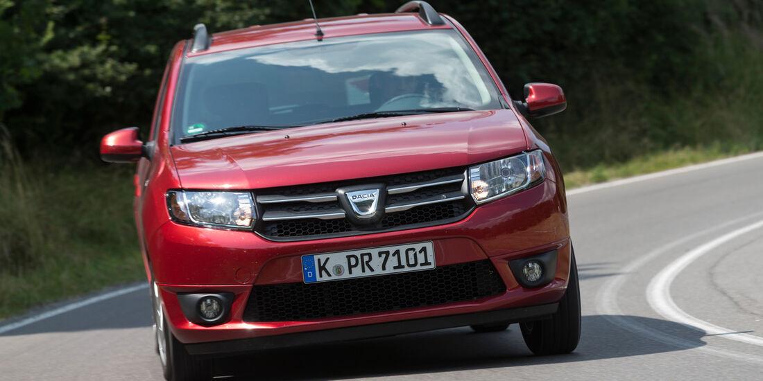 Dacia Logan MCV TCe 90, Frontansicht