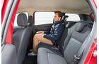 Dacia Logan MCV TCe 90, Rücksitz, Beinfreiheit
