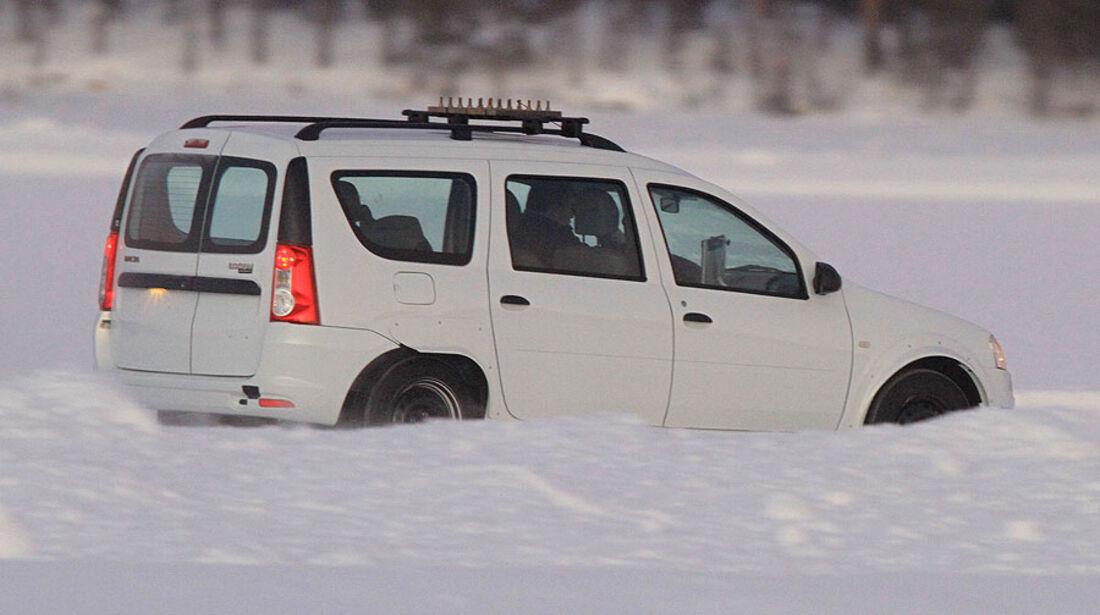 Dacia Logan Versuchsträger