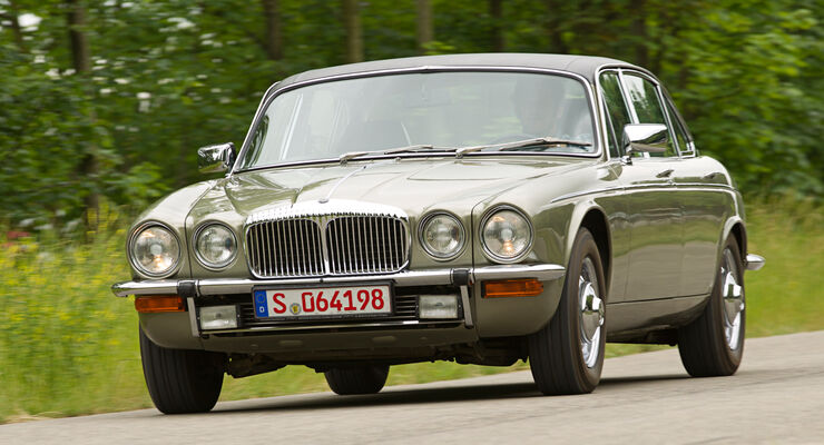 Daimler Double Six, Frontansicht