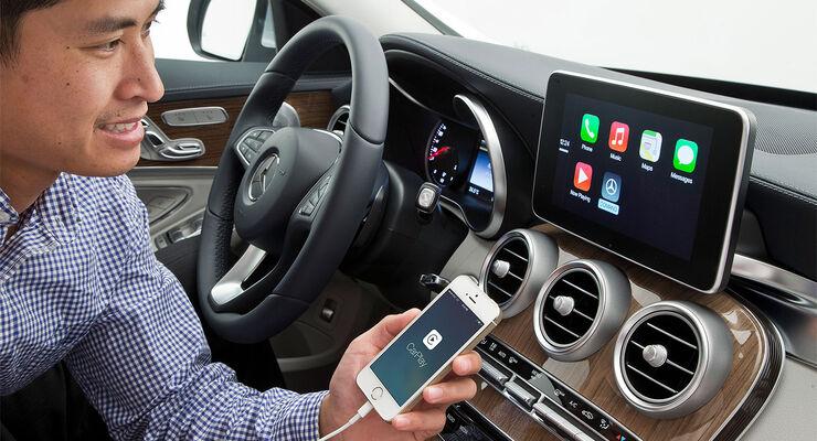 Daimler Mercedes ios Apple