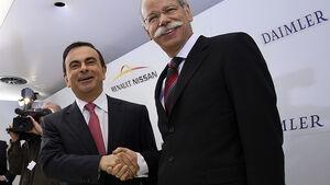 Daimler Renault Nissan Kooperation Dieter Zetsche Carlos Ghosn
