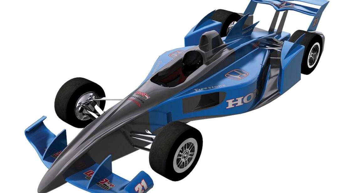 Dallara Indycar-Chassis 2012
