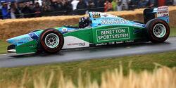 Damon Hill - Schumacher-Benetton B191 1992 - Goodwood 2019