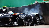 Daniel Juncadella - Force India - Formel 1 - GP Brasilien - Sao Paulo - 7. November 2014