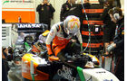 Daniel Juncadella - Force India - Formel 1 - Jerez - Test - 31. Januar 2014
