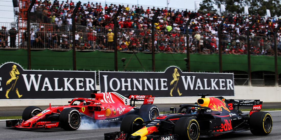 Daniel Ricciardo - Formel 1 - GP Brasilien 2018