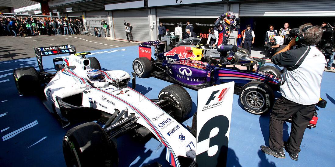 Daniel Ricciardo - GP Belgien 2014